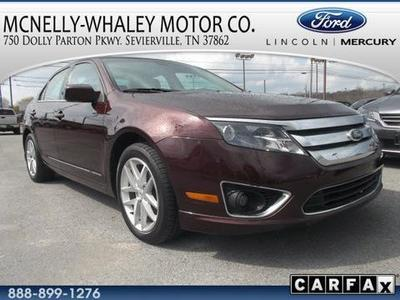 2012 Ford Fusion SEL Sedan for sale in Sevierville for $18,995 with 21,524 miles.