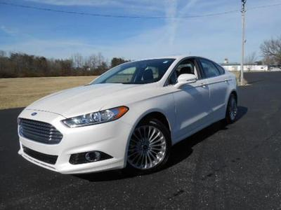 2013 Ford Fusion Titanium Sedan for sale in Crossville for $25,950 with 21,595 miles.
