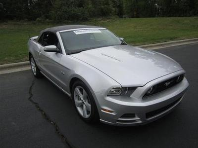 2013 Ford Mustang GT Convertible for sale in Burlington for $26,999 with 16,700 miles.