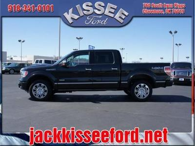2011 Ford F150 Platinum Crew Cab Pickup for sale in Claremore for $38,995 with 48,328 miles.