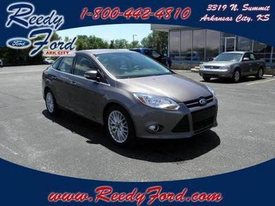 2012 Ford Focus SEL Sedan for sale in Arkansas City for $17,495 with 26,629 miles.
