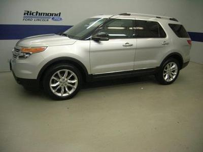 2011 Ford Explorer XLT SUV for sale in Richmond for $29,991 with 37,915 miles.