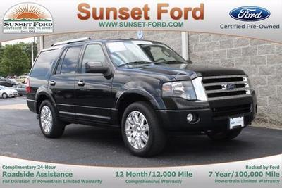 2012 Ford Expedition Limited SUV for sale in Waterloo for $35,800 with 46,737 miles.