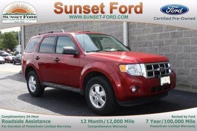 2011 Ford Escape XLT SUV for sale in Waterloo for $18,700 with 18,604 miles.