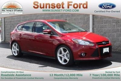 2014 Ford Focus Titanium Hatchback for sale in Waterloo for $19,850 with 24,598 miles.