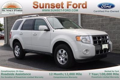 2012 Ford Escape Limited SUV for sale in Waterloo for $22,800 with 18,650 miles.