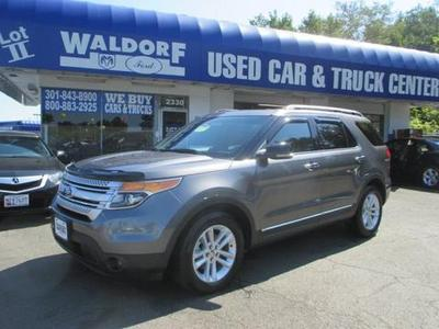 2011 Ford Explorer XLT SUV for sale in Waldorf for $26,999 with 35,575 miles.