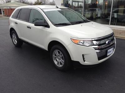 Ford Edge From A Car Lot In Greenville OH