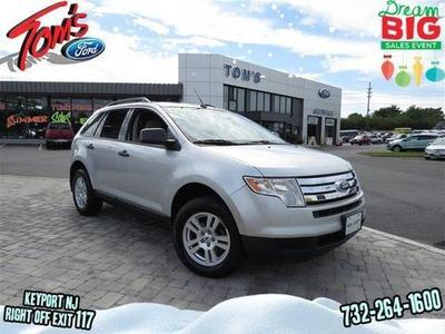 2009 Ford Edge SE SUV for sale in Keyport for $17,538 with 66,602 miles.
