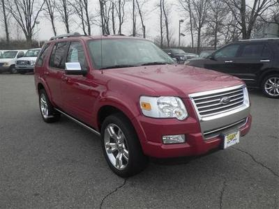 2010 Ford Explorer Limited SUV for sale in Rutherford for $25,499 with 40,216 miles.