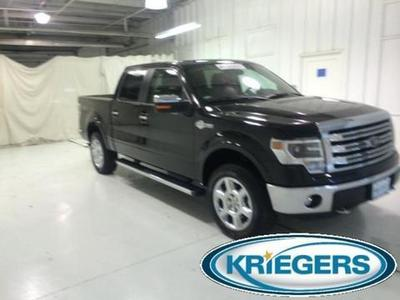 2013 Ford F150 King Ranch Crew Cab Pickup for sale in Muscatine for $41,222 with 14,727 miles.