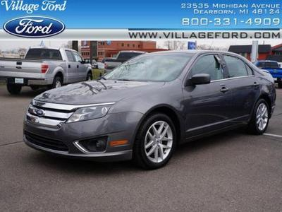 2012 Ford Fusion SEL Sedan for sale in Dearborn for $18,280 with 35,286 miles.