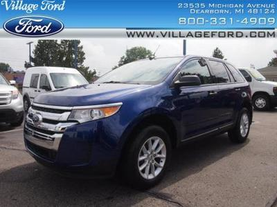 2013 Ford Edge SE SUV for sale in Dearborn for $22,580 with 21,033 miles.