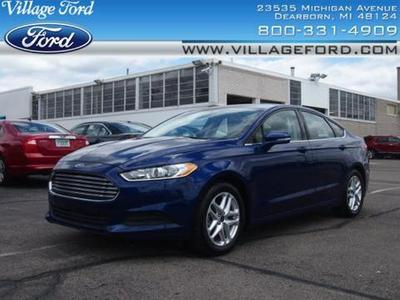 2013 Ford Fusion SE Sedan for sale in Dearborn for $19,580 with 28,905 miles.