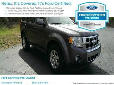 2012 Ford Escape Limited SUV for sale in Erie for $23,988 with 35,210 miles.