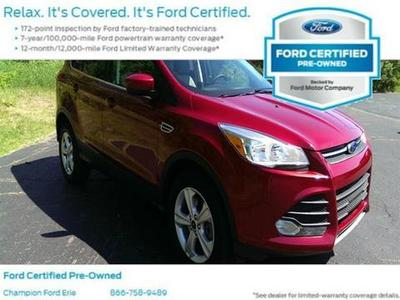 2013 Ford Escape SE SUV for sale in Erie for $23,988 with 33,822 miles.