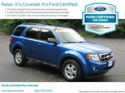2011 Ford Escape XLT SUV for sale in Erie for $17,988 with 54,337 miles.