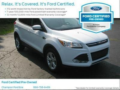 2013 Ford Escape SE SUV for sale in Erie for $21,988 with 30,711 miles.