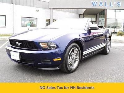 2012 Ford Mustang V6 Premium Convertible for sale in Salisbury for $23,995 with 35,491 miles.
