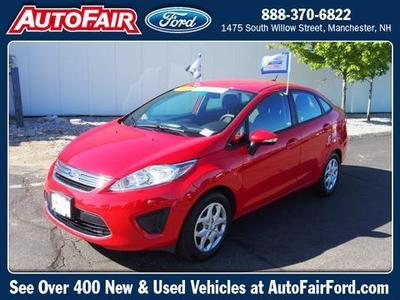 2013 Ford Fiesta SE Sedan for sale in Manchester for $13,398 with 25,258 miles.