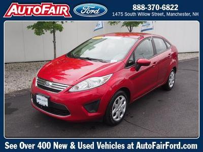 2012 Ford Fiesta SE Sedan for sale in Manchester for $11,892 with 56,308 miles.