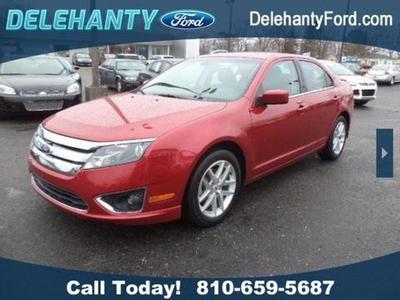 2012 Ford Fusion SEL Sedan for sale in Flushing for $17,400 with 24,721 miles.