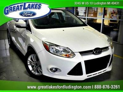 2012 Ford Focus SEL Sedan for sale in Ludington for $14,572 with 40,208 miles.