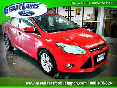 Used 2012 Ford Focus - Ludington MI
