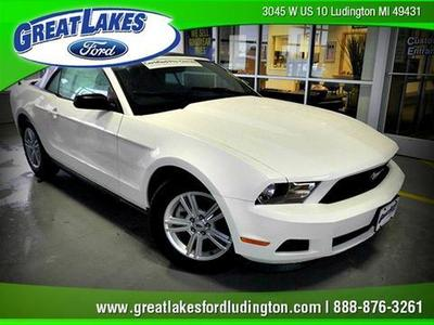 Used 2012 Ford Mustang - Ludington MI