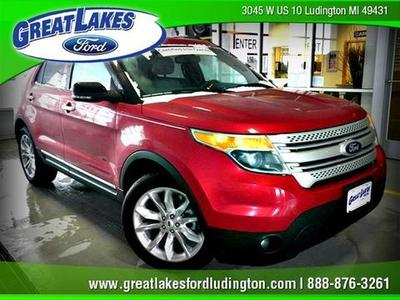 Used 2012 Ford Explorer - Ludington MI