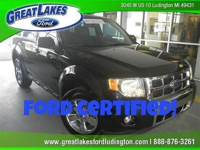 2011 Ford Escape Limited SUV for sale in Ludington for $21,326 with 40,687 miles.