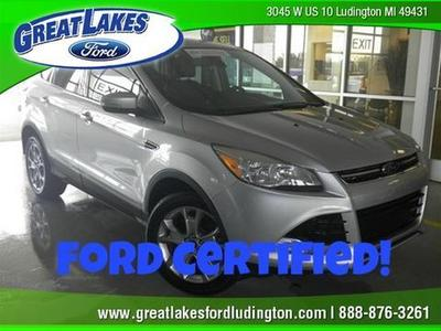 2013 Ford Escape SEL SUV for sale in Ludington for $24,230 with 36,153 miles.