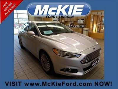 2014 Ford Fusion Titanium Sedan for sale in Rapid City for $29,050 with 19,297 miles.