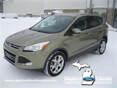 2013 Ford Escape SEL SUV for sale in Gaylord for $23,630 with 34,763 miles.
