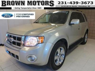2012 Ford Escape Limited SUV for sale in Petoskey for $22,995 with 30,635 miles.
