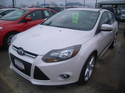 2013 Ford Focus Titanium Sedan for sale in Grand Forks for $18,995 with 6,179 miles.