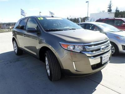 2013 Ford Edge SEL SUV for sale in Port Angeles for $27,490 with 22,524 miles.