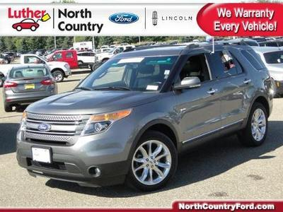 2012 Ford Explorer Limited SUV for sale in Coon Rapids for $31,495 with 40,648 miles.