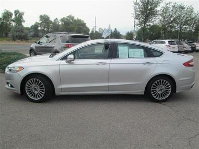 2013 Ford Fusion Titanium Sedan for sale in Missoula for $24,288 with 14,685 miles.
