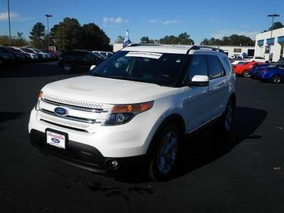 2013 Ford Explorer Limited SUV for sale in Dunn for $35,900 with 37,265 miles.