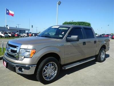 2013 Ford F150 XLT Crew Cab Pickup for sale in Angleton for $28,691 with 14,725 miles.