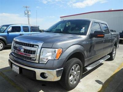2013 Ford F150 XLT Crew Cab Pickup for sale in Angleton for $29,992 with 21,297 miles.