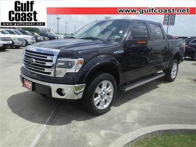2013 Ford F150 Lariat Crew Cab Pickup for sale in Angleton for $26,594 with 11,785 miles.