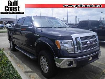2012 Ford F150 Lariat Crew Cab Pickup for sale in Angleton for $36,991 with 42,902 miles.