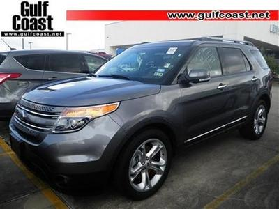 2013 Ford Explorer Limited SUV for sale in Angleton for $28,993 with 31,270 miles.
