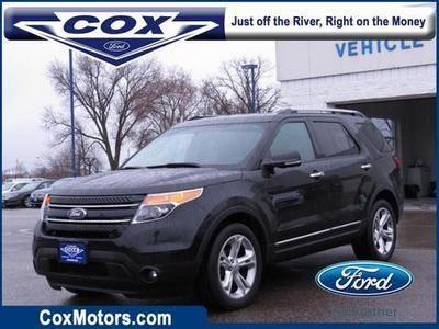 2013 Ford Explorer Limited SUV for sale in New Richmond for $29,777 with 46,068 miles.