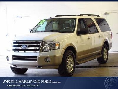 2012 Ford Expedition EL XLT SUV for sale in Charlevoix for $35,991 with 31,758 miles.