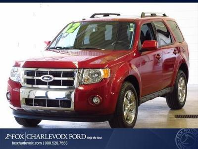 2012 Ford Escape Limited SUV for sale in Charlevoix for $21,991 with 37,022 miles.