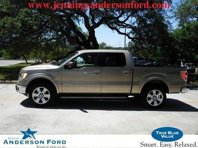 2012 Ford F150 Lariat Crew Cab Pickup for sale in Boerne for $34,875 with 33,887 miles.