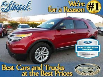 2013 Ford Explorer XLT SUV for sale in Kerrville for $28,990 with 30,520 miles.